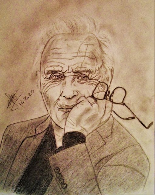 Anthony Hopkins by aline17